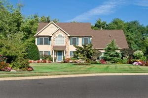 Nicely Landscaped Single Family Home